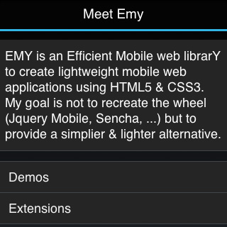 Emy Android theme